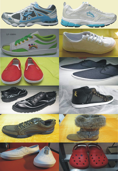 Few Sports Shoes Produced for Clients